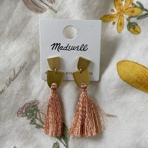 Madewell Fringe Earrings (NEVER WORN)